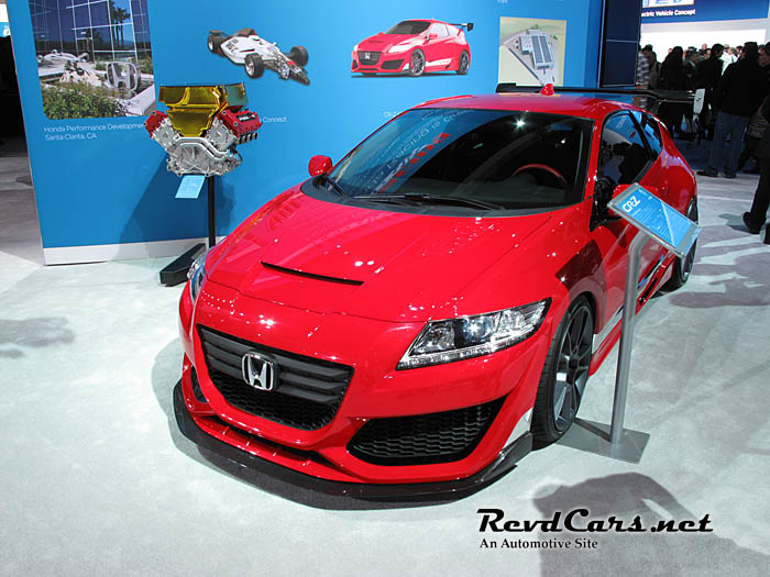 New Honda CRZ Mugen Edition