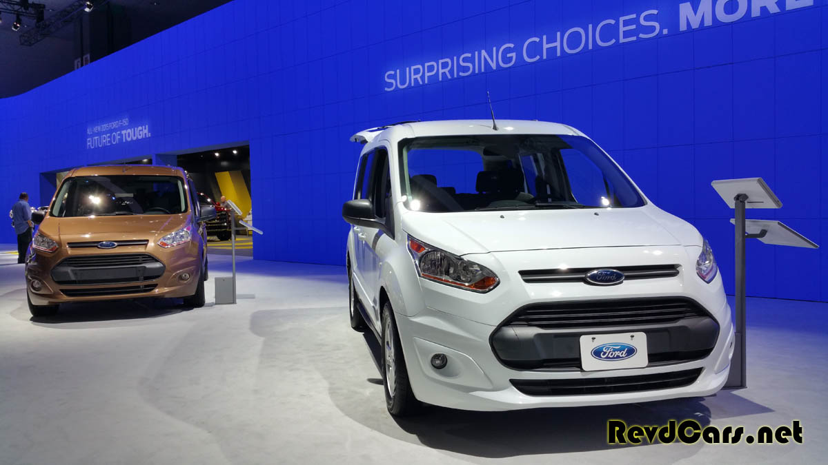 The Ford Transit Connect - we LOVE this utilitarian vehicle